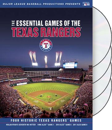 The Essential Games of the Texas Rangers (4-DVD)