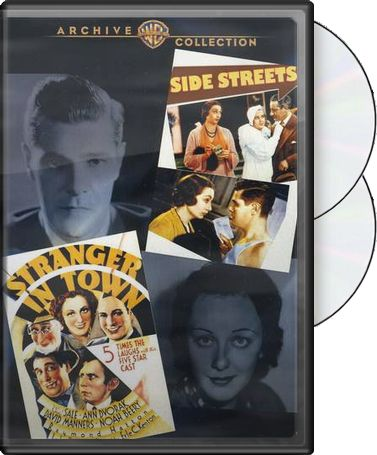 Side Streets (1934) / Stranger in Town (1932)
