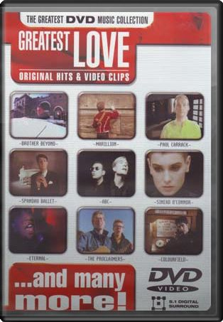 Greatest Love: Original Hits & Video Clips