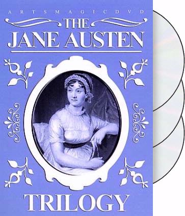 The Jane Austen Trilogy (3-DVD)