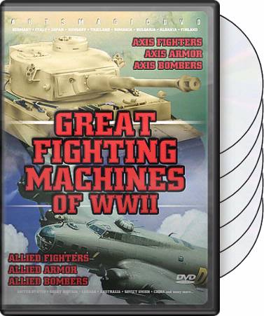 Great Fighting Machines of WWII (6-DVD)