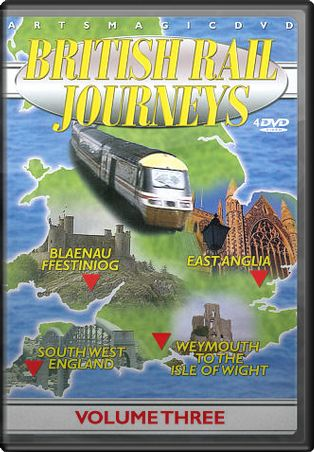 British Rail Journeys, Volume 3 (4-DVD)