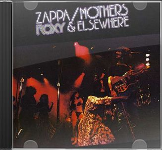Frank Zappa Roxy Amp Elsewhere Cd 2012 Zappa Records