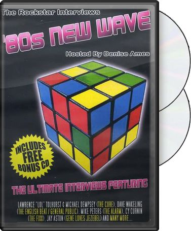 80s New Wave Rockstar Interviews (2-DVD)
