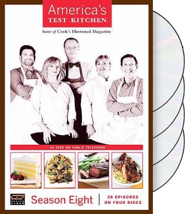 America's Test Kitchen - Season 8 (4-DVD)