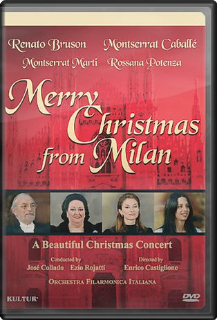 Merry Christmas from Milan - Caballe' & Bruson