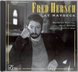 Live at Maybeck Recital Hall, Volume 31