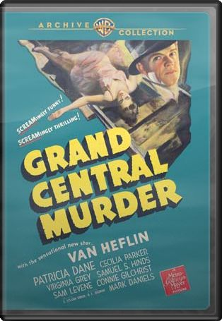 Grand Central Murder (Full Screen)