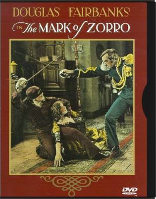 The Mark of Zorro (Silent)