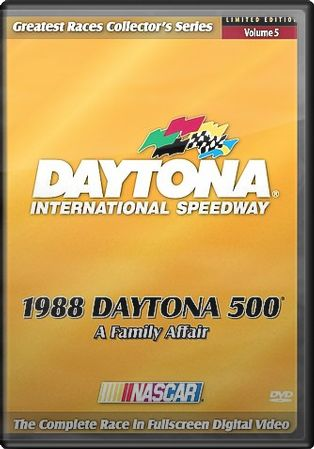 Auto Racing - 1988 Daytona 500