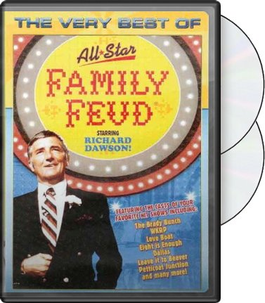 The Very Best of All-Star Family Feud (2-DVD)