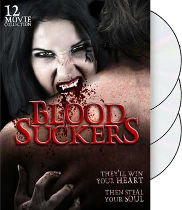 Blood Suckers: 12 Movie Collection (3-DVD)