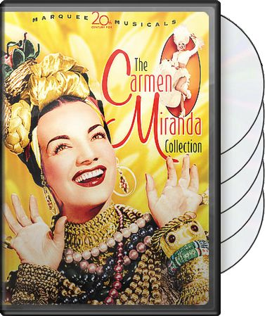 The Carmen Miranda Collection (5-DVD)