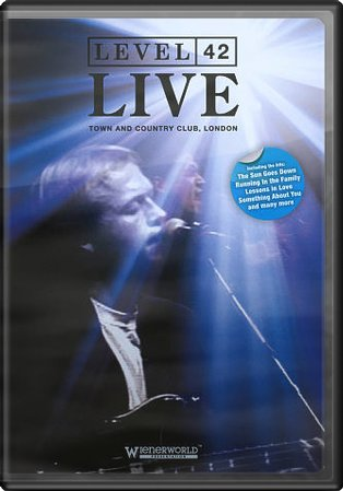 level 42 live town and country club london dvd 1992 music videos concerts on. Black Bedroom Furniture Sets. Home Design Ideas
