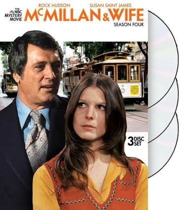 McMillan & Wife - Season 4 (3-DVD)