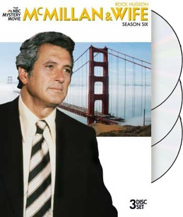 McMillan & Wife - Season 6 (3-DVD)