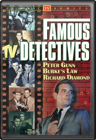 Famous TV Detectives (Peter Gunn / Burke's Law /