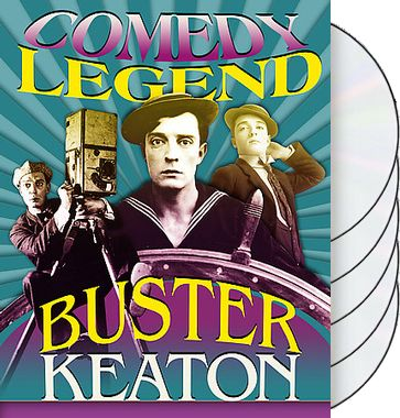 Buster Keaton - Comedy Legend (5-DVD)