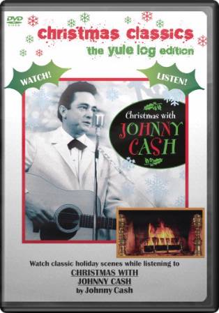 Christmas with Johnny Cash (The Yule Log Edition)