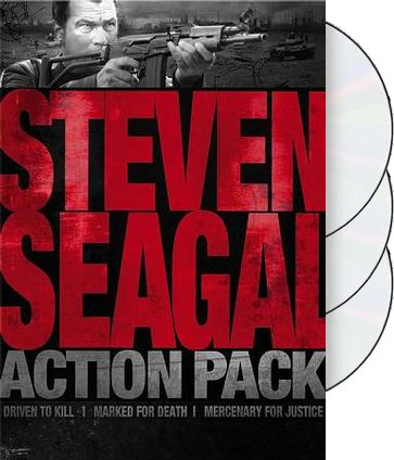 Steven Seagal Action Pack (Driven to Kill /