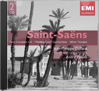 Saint-Saëns: Piano Concertos 1-5; Wedding Cake