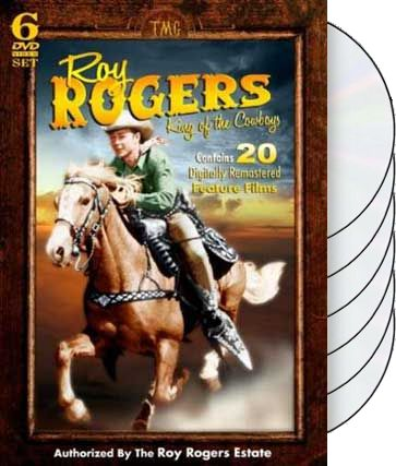 Roy Rogers - King of the Cowboys: 20 Feature Film