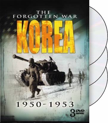 Korea - The Forgotten War, 1950-1953 (3-DVD)