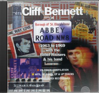 Cliff Bennett at Abbey Road