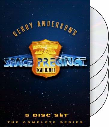 Space Precinct - Complete Series (5-DVD)