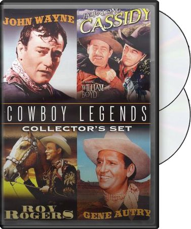 Cowboy Legends Collector's Set - 4 Films: John