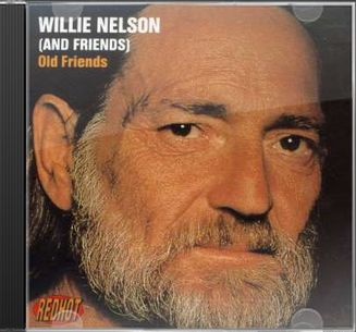 Willie Nelson Old Friends Cd 1992 Sony Australia