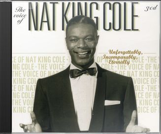 Voice of Nat King Cole/ 3-CD Set
