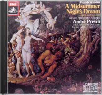 Mendelssohn: A Midsummer Night's Dream ~ Previn