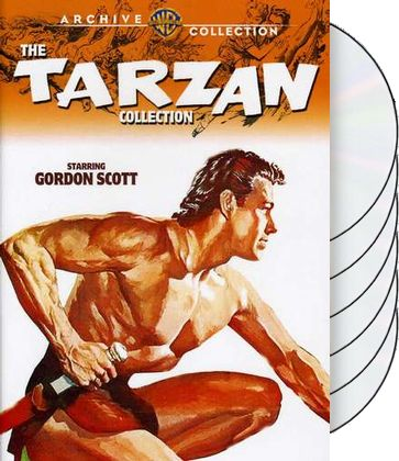 Tarzan Collection with Gordon Scott (Tarzan's