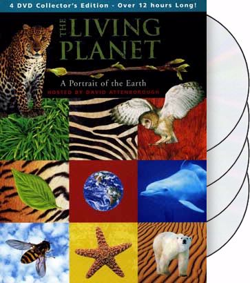 The Living Planet - 4-Disc Set (4-DVD)