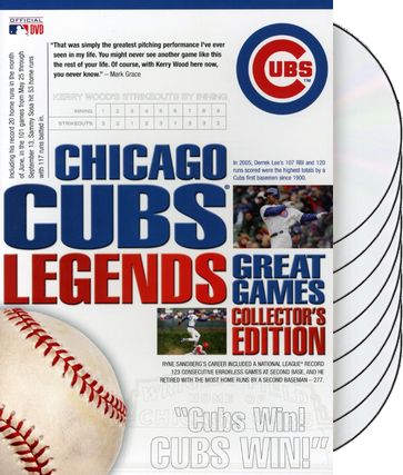 Chicago Cubs Legends: Great Games (8-DVD)