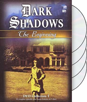 Dark Shadows - The Beginning, Collection 1 (4-DVD)