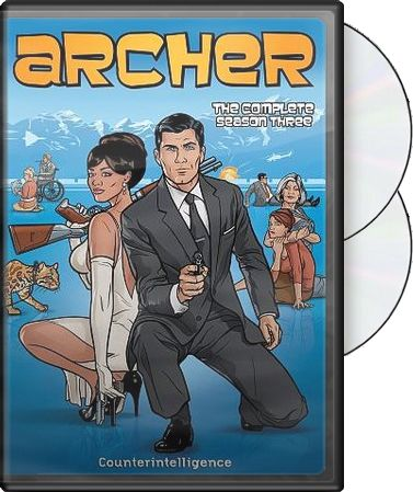 Archer - Complete Season 3 (2-DVD)