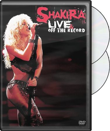 Shakira - Live & Off The Record (DVD, CD 2 Pack)
