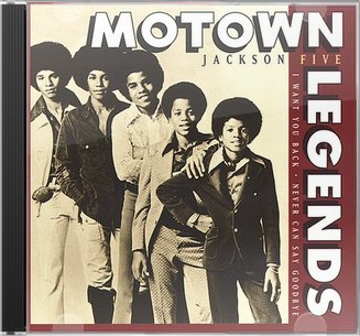 Jackson 5 Motown Legends Never Can Say Goodbye Cd 1996
