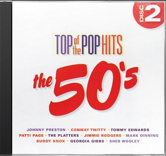 Top of the Pop Hits - The 50s - Disc 2