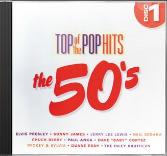Top of the Pop Hits - The 50s - Disc 1