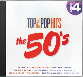 Top of the Pop Hits - The 50s - Disc 4