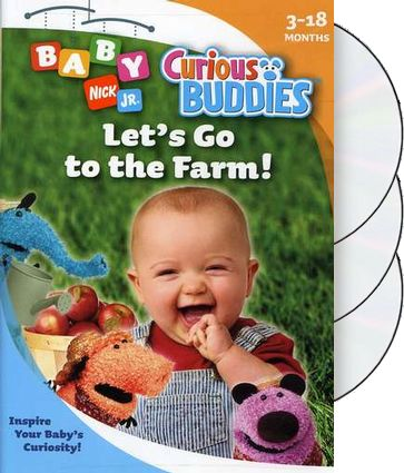 Curious Buddies - Gift Set (3-DVD)