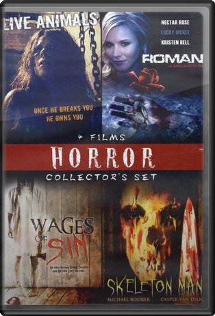 Horror Collector's Set (Live Animals / Roman /