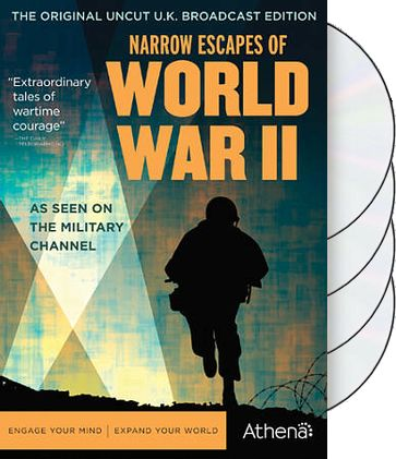 Narrow Escapes of World War II (4-DVD)