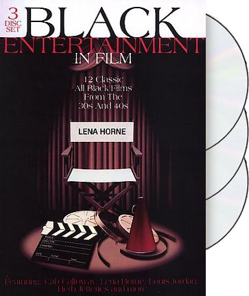 Black Entertainment in Film (3-DVD)