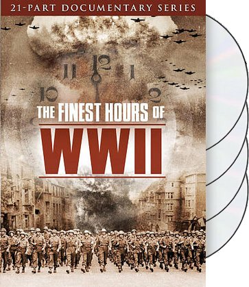 The Finest Hours of WWII (4-DVD)