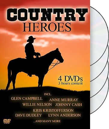 Country Heroes (4-DVD)