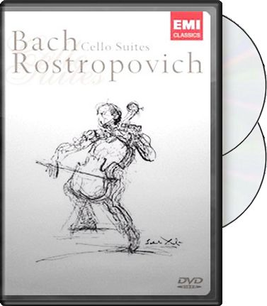 Bach / Rostropovich - Cello Suites